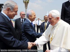 پاپ در فلسطین اشغالی